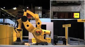 fanuc robotics m 2000ia intelligent heavy payload robot cell youtube