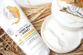 the body shop almond milk u0026 honey body lotion and butter
