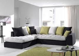 jetés de canapé acheter votre canapé chaise longue tricolore avec coussins jetés