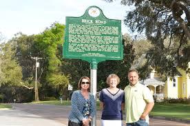 marking a historic path on brick road west orange times