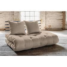 canap lit futon canapé convertible au meilleur prix canapé lit noir shin sano