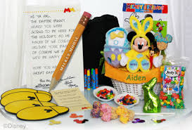 mickey mouse easter baskets mickey mouse helps prepare easter baskets at disney resorts a
