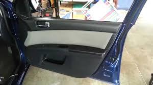 nissan sentra interior 2010 2012 nissan sentra interior door panel remove to upgrade oem