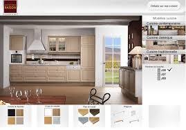 cuisine virtuelle cuisine simulation cuisine equipee moderne meubles rangement