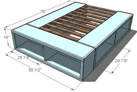 Building Plans For Platform Bed With Drawers by 54 Best Byob U003dbuild Your Own Bed Images On Pinterest Bedroom