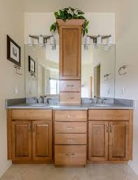 custom cabinets colorado springs peregrine bathroom remodel colorado springs kraftmaid fox chase