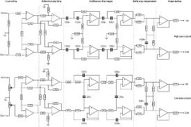towards a differential active crossover circuit with op amps
