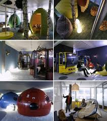 Google Headquarters Interior The Top 10 Coolest Offices In The World Cool Office Design