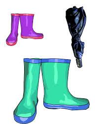 Clip Umbrella Rain Boots U0026 Umbrella Clip Art Free Stock Photo Public Domain