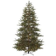 realistic christmas trees 9 foot perfectlit led realistic christmas tree williamsburg pine