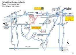 Sandusky Ohio Map by Nasa Glenn Research Center Location Map 21000 Brookpark Road