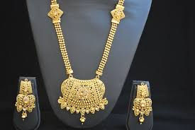 long necklace images Traditional rajwadi imitation design long necklace set jpg