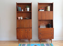 mid century modern storage cabinet very versatile danish modern shelving units cabinets one has a pull