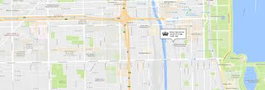 University Of Chicago Map by British International Of Chicago South Loop Nord Anglia