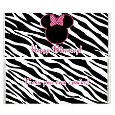 photo instant download zebra minnie image