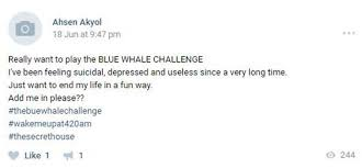 Challenge Kills Someone Everything You Need To About The Deadly Blue Whale