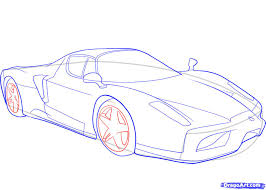 how to draw a ferrari step by step cars draw cars online