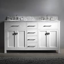 virtu usa md 2060 wmro wh nm caroline 60 in bathroom vanity set