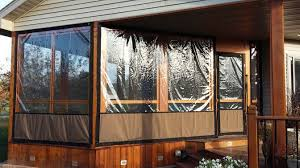 Clear Vinyl Patio Enclosures by Plastic Window Coverings Easy To Install