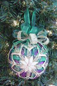 quilted christmas ornament pattern pdf tutorial folded christmas