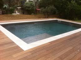 plage de piscine beautiful contour de piscine en bois 13 contour bois et plage de
