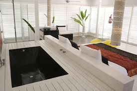 Contemporary Villa In Bali With Overlapping Functional Spaces - Bali bathroom design