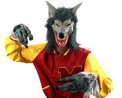 halloween costumes werewolf grey werewolf choose accessory latex halloween horror fancy dress