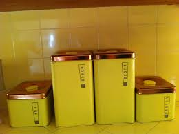 yellow kitchen canisters inspiring kitchen orange canister sets gold image of yellow popular