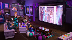 the sims it u0027s movie time the sims 4 movie hangout stuff is