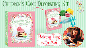 Baking Decorating How To Ice Cakes With A Piping Gun U2014 Baking Tips With Abi Youtube