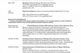 Student Part Time Job Resume by Psychology Degree Resume Templates Reentrycorps