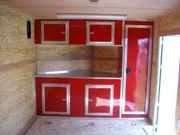 v nose enclosed trailer cabinets aluminum trailer cabinets trucks trailers rv s toy haulers