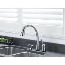 Hands Free Kitchen Faucets Decorating 9192t Sssd Dst Delta Kitchen Faucet Reviews Delta