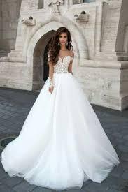 s wedding dress sheer back princess ballgown skirt wedding dress featured