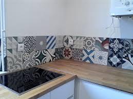 cr馘ence cuisine carreaux de ciment credence cuisine carreaux de ciment maison design bahbe com