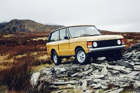 old land rover truck land rover now restores 1970s range rovers wired