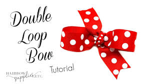 hairbow supplies how to make a loop hair bow hairbow supplies etc