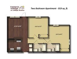 campus village at college station unit floorplans now available