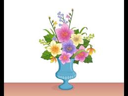 Drawings Of Flowers In A Vase Draw Beautiful Flower Pot In Flash Part 3 Youtube