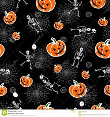 free halloween orange background pumpkin halloween pumpkins and skeleton background royalty free stock