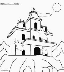 goosebumps coloring pages printable haunted house coloring pages for kids cool2bkids