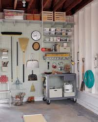 garage and shed organizing ideas martha stewart pegboard organizer