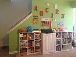 back cool homework stations and homeschool rooms