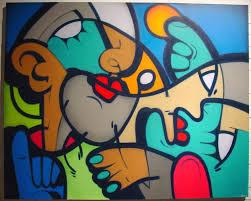 cubism colours graffoto hunto the graffiti cubist