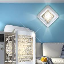 Design Wandleuchten Wohnzimmer 5w Led Wandlampe Wandleuchte Wohnzimmer Wand Licht Acrylkristalle