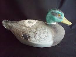 ariduk duck decoy fiber mallard vintage other vintage