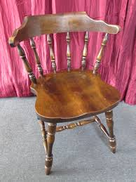 Lot Detail VINTAGE ALL WOOD HALE OF VERMONT SIDE CHAIR 3