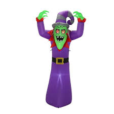 tis your season 7 ft inflatable blinking eyes witch outdoor