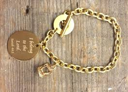 gold chain charm bracelet images Blessed bling blog archive gold chain scripture charm bracelet jpg