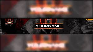 template youtube photoshop cc free call of duty black ops 3 youtube banner avatar template psd